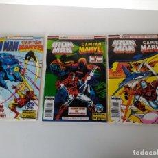 Cómics: LOTE DE 3 COMICS FORUM, IRON MAN, Nº 44, 45 Y 46. Lote 173025738