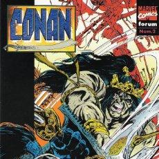 Cómics: CONAN FORUM-MARVEL NÚMEROS 2 A 7 DE LA SERIE DE 11 PUBLICADA EN 1996. Lote 173028405