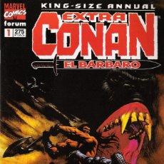 Cómics: EXTRA CONAN EL BÁRBARO KING SIZE ANNUAL NÚMEROS 1 A 5 DE LA SERIE DE 11 PUBLICADA EN 1996. Lote 173029157