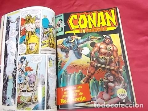 Cómics: CONAN EL BÁRBARO . TOMO RETAPADO. DEL 121 AL 125. FORUM - Foto 3 - 173030178