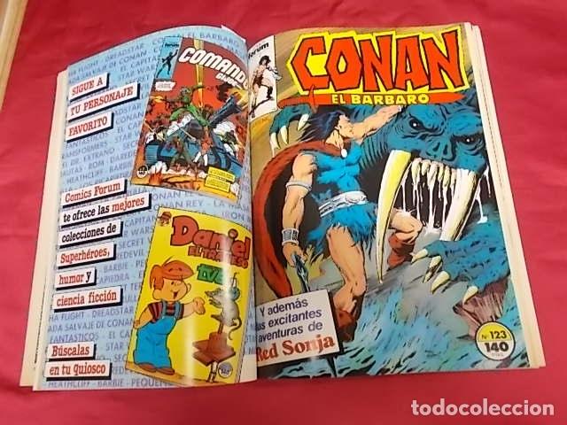 Cómics: CONAN EL BÁRBARO . TOMO RETAPADO. DEL 121 AL 125. FORUM - Foto 5 - 173030178