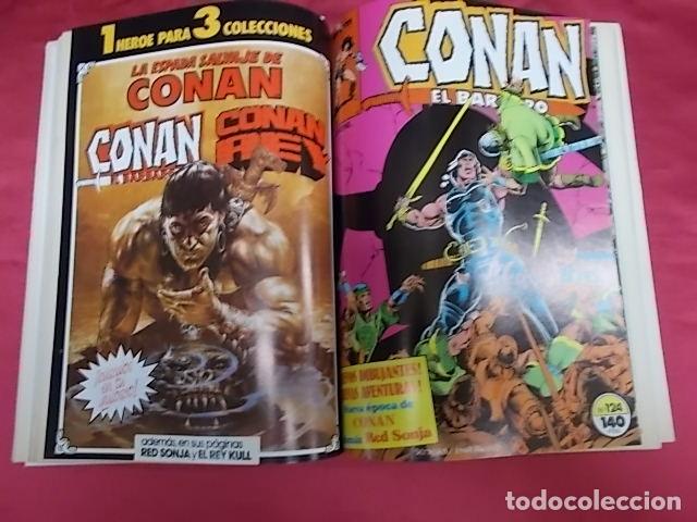 Cómics: CONAN EL BÁRBARO . TOMO RETAPADO. DEL 121 AL 125. FORUM - Foto 6 - 173030178