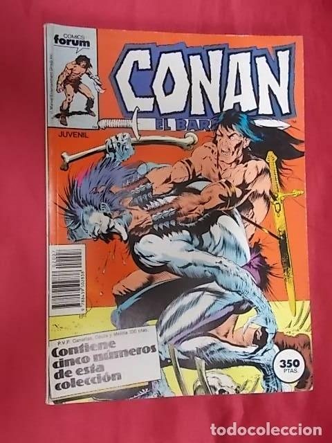 CONAN EL BÁRBARO . TOMO RETAPADO. DEL 121 AL 125. FORUM (Tebeos y Comics - Forum - Retapados)
