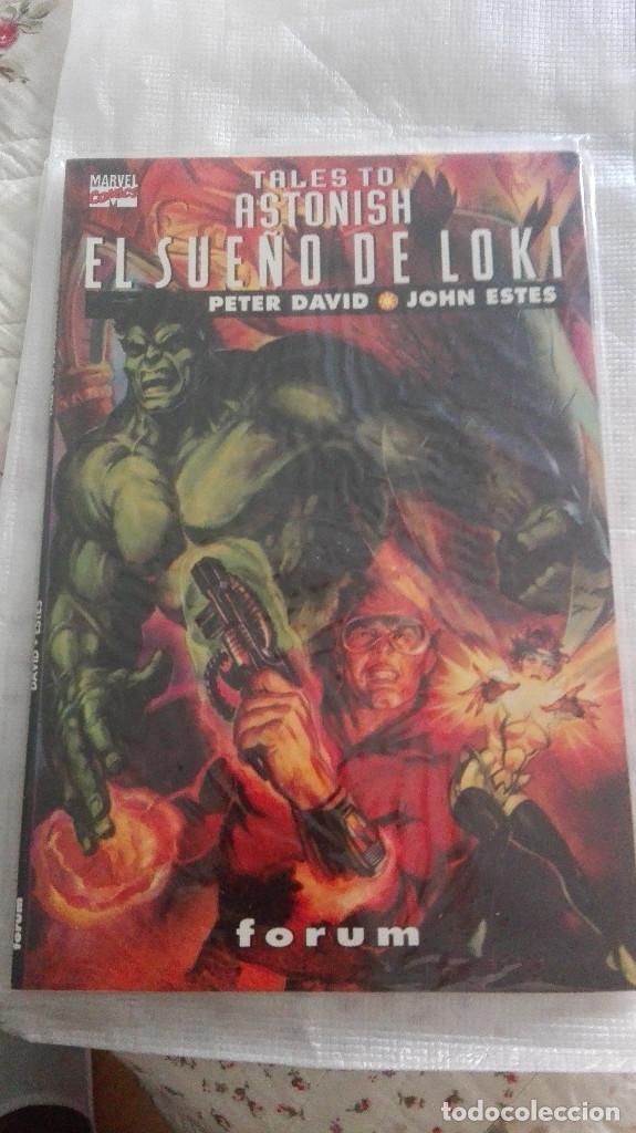 TALES TO ASTONISH: EL SUEÑO DE LOKI (FORUM, 1995) (Tebeos y Comics - Forum - Prestiges y Tomos)