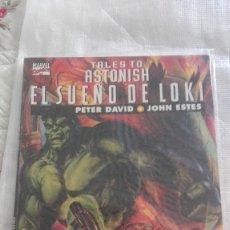 Cómics: TALES TO ASTONISH: EL SUEÑO DE LOKI (FORUM, 1995). Lote 173120152