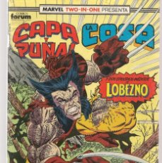 Comics: MARVEL TWO IN ONE. Nº 21. CAPA Y PUÑAL / LA COSA. FORUM. (C/A30). Lote 173120609