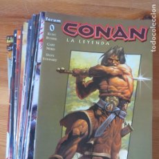 Cómics: COMIC CONAN LA LEYENDA COLECCION COMPLETA 41 NUMEROS FORUM 2005 - 2009 FORMATO GRAPA PERFECTO ESTADO. Lote 173155449