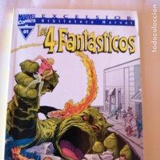 Cómics: MARVEL EXCELSIOR LOS 4 FANTÁSTICOS STAN LEE Y JACK KIRBY NÚMERO 1 ISBN 8439589697. Lote 173196965