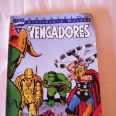 Cómics: MARVEL EXCELSIOR LOS VENGADORES STAN LEE Y JACK KIRBY NÚMERO 1 ISBN 8439589719. Lote 173197653