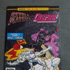 Comics: ESTELA PLATEADA QUASAR Nº 22 COMICS FORUM ESTADO MUY BUENO NEGOCIABLE MAS ARTICULOS. Lote 173199799