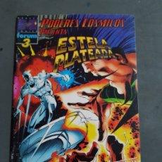 Comics: ESTELA PLATEADA PODERES COSMICOS Nº 3 ULTIMO NUMERO COMICS FORUM ESTADO BUENO. Lote 173200295