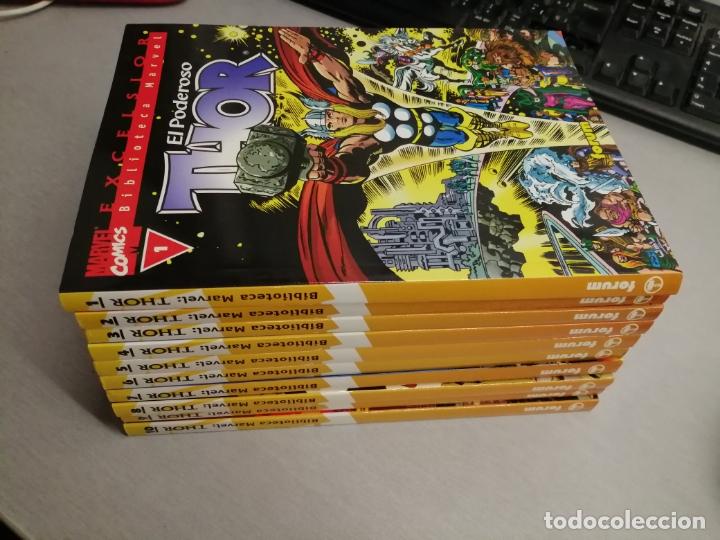 BIBLIOTECA MARVEL THOR / NÚMEROS DEL 1 AL 10 / FORUM (Tebeos y Comics - Forum - Thor)