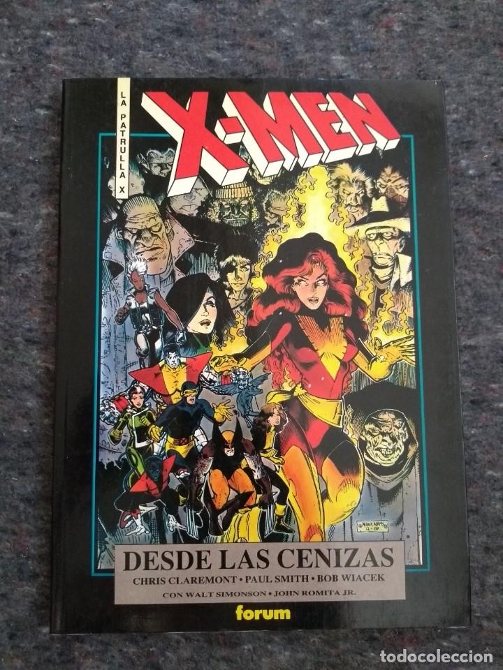 X - MEN DESDE LAS CENIZAS - CHRIS CLAREMONT Y PAUL SMITH - COLECCIÓN OBRAS MAESTRAS Nº 2 (Tebeos y Comics - Forum - Prestiges y Tomos)
