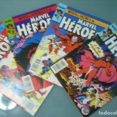 Cómics: MARVEL HEROES 27 28 29 30 MEFISTO. Lote 173398123