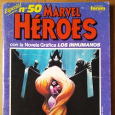 Cómics: MARVEL HÉROES ESPECIAL N°50: NOVELA GRÁFICA DE LOS INHUMANOS (CÓMICS FORUM, 1991)/WHAT THE...?. Lote 173447018