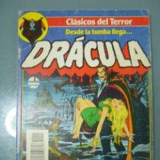 Cómics: CLASICOS DEL TERROR DRACULA. RETAPADO CON LOS Nº 1 A 5. Lote 173476314