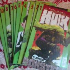 Cómics: EL INCREIBLE HULK. FORUM VOLUMEN 2. LOTE 10 NUMEROS. Lote 173497054