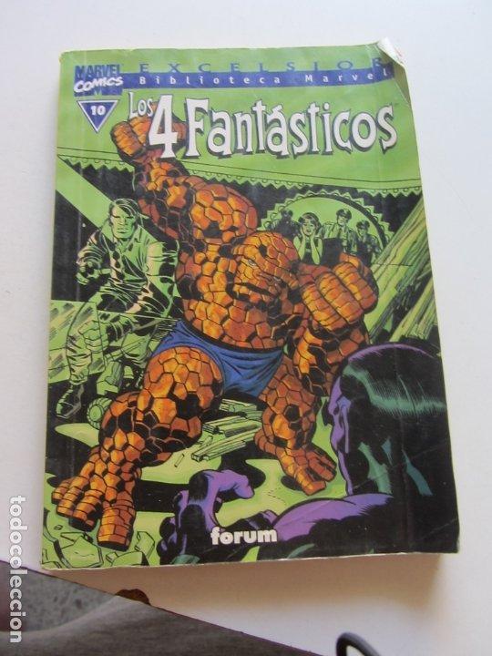 LOS 4 FANTASTICOS . Nº 10. EXCELSIOR. BIBLIOTECA MARVEL. FORUM C19 (Tebeos y Comics - Forum - 4 Fantásticos)