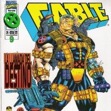 Cómics: CABLE VOLUMEN 2 - NÚMEROS 9, 10 Y 11 EDICIONES FORUM 1996-97. Lote 173521593