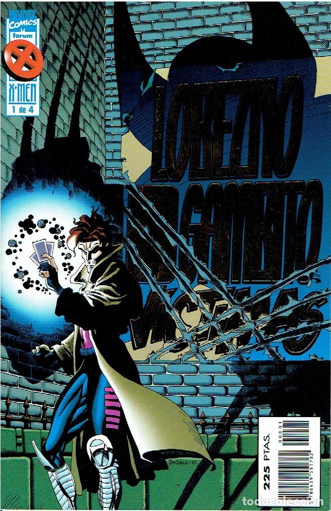 LOBEZNO / GAMBITO : VÍCTIMAS - VOL 1 - MINISERIE DE 4 NÚMEROS ED FORUM 1996 (Tebeos y Comics - Forum - Otros Forum)