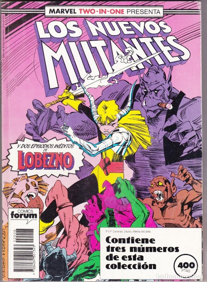 LOS NUEVOS MUTANTES 48 AL 50 FORUM RETAPADOS (Tebeos y Comics - Forum - Nuevos Mutantes)