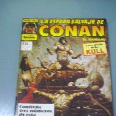 Cómics: LA ESPADA SALVAJE DE CONAN. RETAPADO CON LOS Nº 65 66 67.. Lote 173559922