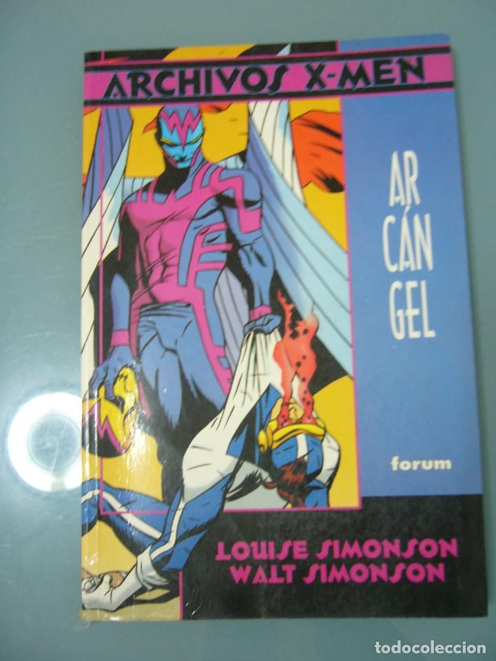 ARCHIVOS X-MEN. ARCANGEL. (Tebeos y Comics - Forum - Prestiges y Tomos)