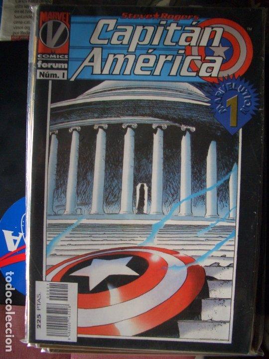CAPITÁN AMÉRICA MARK WAID Y RON GARNEY #1-11 (FORUM, 1996-1997) (Tebeos y Comics - Forum - Capitán América)