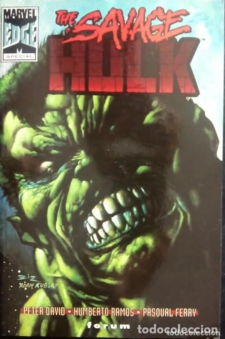 THE SAVAGE HULK DE PETER DAVID & HUMBERTO RAMOS & PASQUAL FERRY COMICS FORUM (Tebeos y Comics - Forum - Hulk)