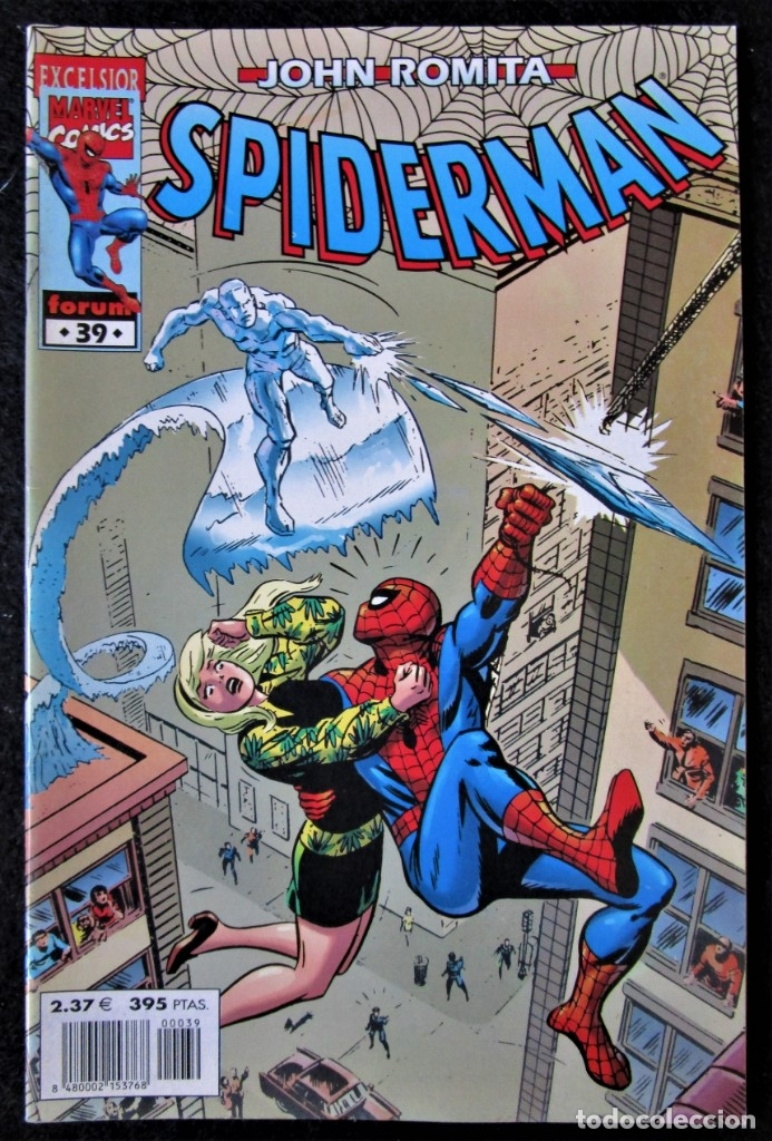 JOHN ROMITA - SPIDERMAN Nº 39 - FORUM 2002 ''BUEN ESTADO'' (Tebeos y Comics - Forum - Spiderman)