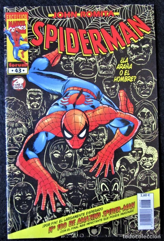 JOHN ROMITA - SPIDERMAN Nº 43 - FORUM 2002 ''BUEN ESTADO'' (Tebeos y Comics - Forum - Spiderman)