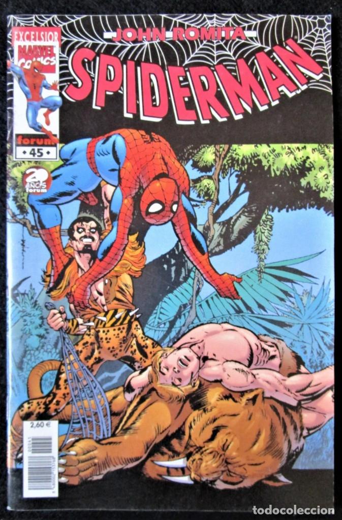 JOHN ROMITA - SPIDERMAN Nº 45 - FORUM 2002 ''BUEN ESTADO'' (Tebeos y Comics - Forum - Spiderman)