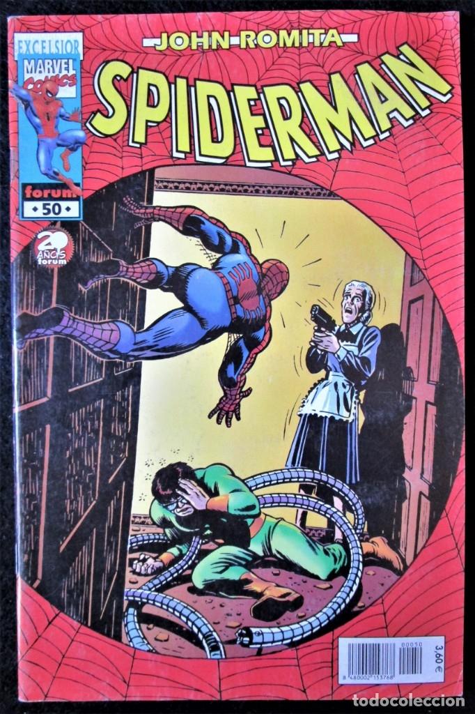 JOHN ROMITA - SPIDERMAN Nº 50 - FORUM 2002 ''BUEN ESTADO'' (Tebeos y Comics - Forum - Spiderman)