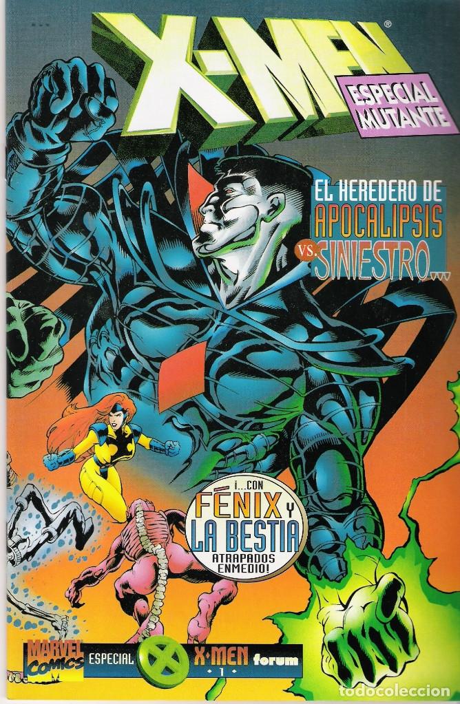 X-MEN VOL 2 / NUEVOS X-MEN MARVEL-FORUM ESPECIAL MUTANTE NRO 1 PUBLICADO JUNIO 1996 (Tebeos y Comics - Forum - X-Men)