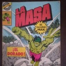 Cómics: LA MASA Nº 13. ¡EL DORADO!. EL INCREÍBLE HULK. BRUGUERA 1981. Lote 173795243