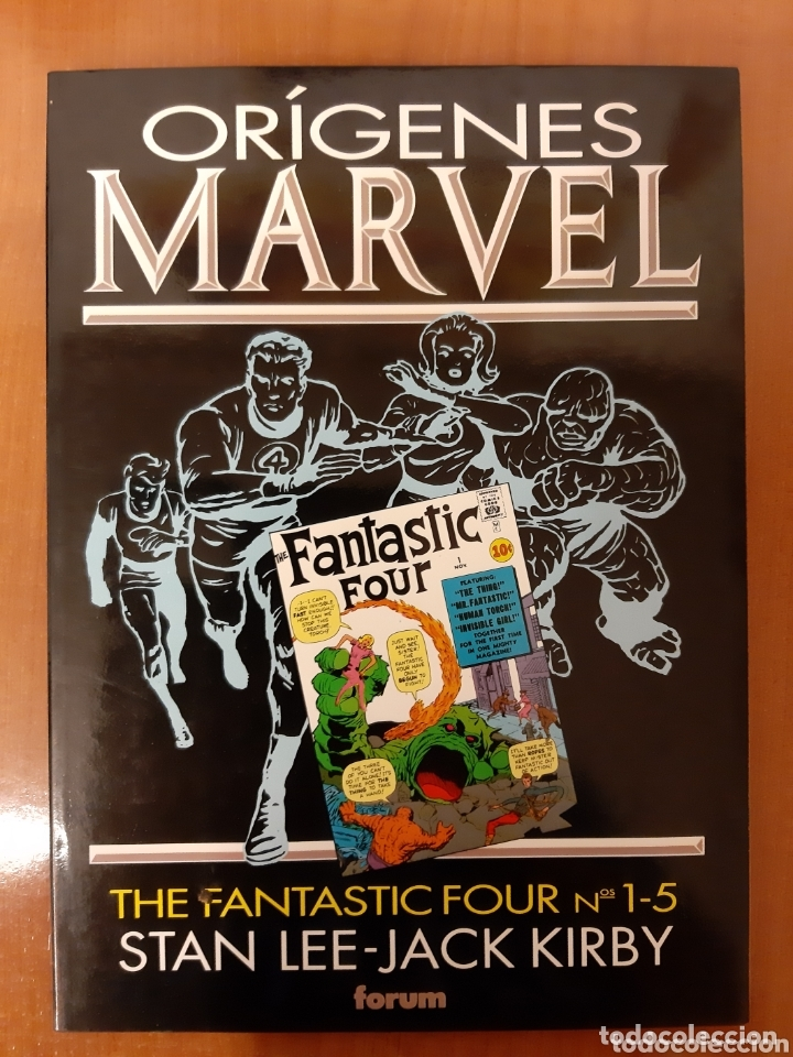 ORÍGENES MARVEL FANTASTIC FOUR X MEN THOR IRON MAN DR STRANGE CAPITÁN AMÉRICA (Tebeos y Comics - Forum - Prestiges y Tomos)