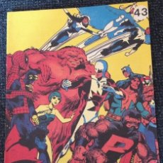 Cómics: ALPHA FLIGHT Nº 43.. Lote 173686800