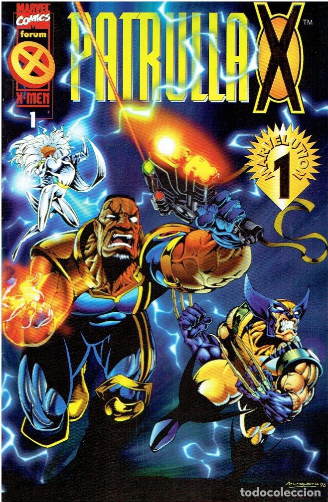 PATRULLA X VOL2 MARVEL-FORUM NÚMEROS 1 AL 12 MARVELUTION 1 - 1996/97 (Tebeos y Comics - Forum - Patrulla X)