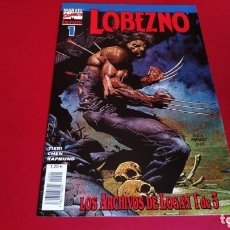 Cómics: DE KIOSCO LOBEZNO 1 VOL III LOS ARCHIVOS DE LOGAN 1 FORUM. Lote 173973575