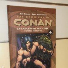 Cómics: LAS CRONICAS DE CONAN Nº 4 LA CANCION DE RED SONJA Y OTRAS HISTORIAS - FORUM -. Lote 173987650