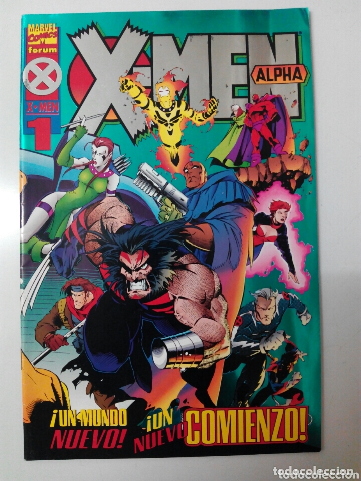 X-MEN ALPHA N°1 (Tebeos y Comics - Forum - X-Men)