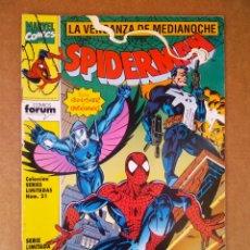 Cómics: COLECCIÓN SERIES LIMITADAS N°21-23-26/SPIDERMAN: LA VENGANZA DE MEDIANOCHE N°1-3-6 (FORUM, 1993).. Lote 174095679