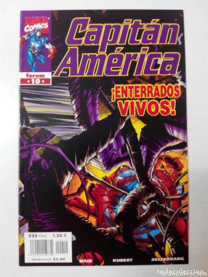 CAPITÁN AMÉRICA 10 VOL IV VOLUMEN 4 (Tebeos y Comics - Forum - Capitán América)