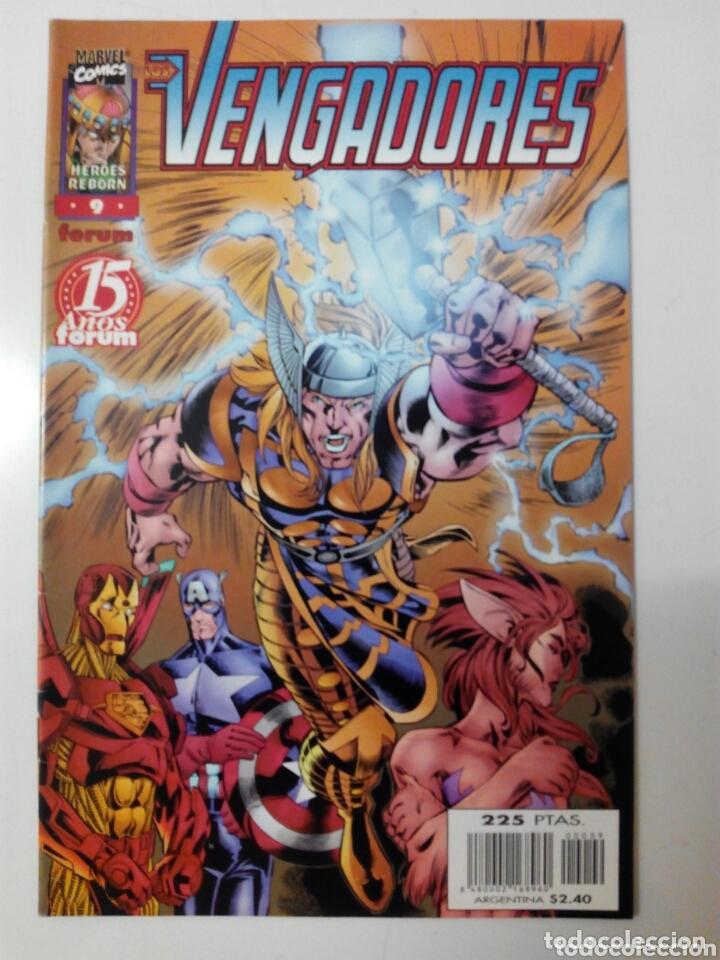 LOS VENGADORES HÉROES REBORN 9 (Tebeos y Comics - Forum - Vengadores)