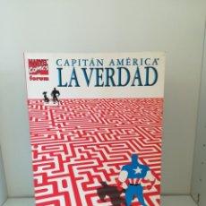 Cómics: CAPITAN AMERICA LA VERDAD KYLE BAKER FORUM. Lote 174103357