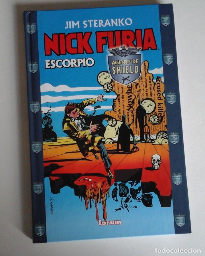 NICK FURIA SCORPIO, DE JIM STERANKO. UNA OBRA MAESTRO DEL COMIC. NUEVO (Tebeos y Comics - Forum - Furia)