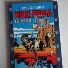 Cómics: NICK FURIA SCORPIO, DE JIM STERANKO. UNA OBRA MAESTRO DEL COMIC. NUEVO. Lote 174244084