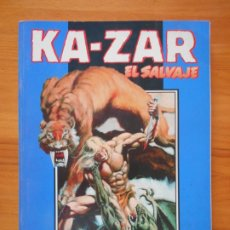 Comics: KA-ZAR EL SALVAJE - OBRA COMPLETA - FORUM - NUMEROS 1 A 3 EN UN TOMO RETAPADO (M). Lote 174255727