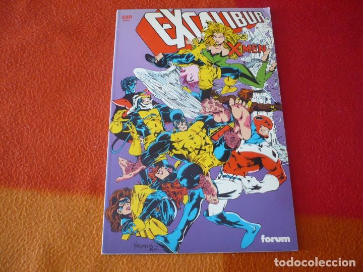 EXCALIBUR VS X MEN ( LOBDELL ) ¡MUY BUEN ESTADO! MARVEL FORUM PRESTIGIO 55 (Tebeos y Comics - Forum - Prestiges y Tomos)