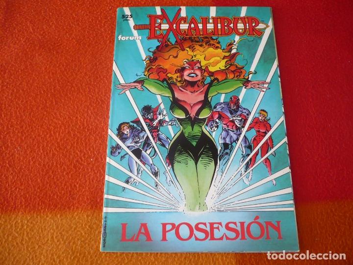 EXCALIBUR LA POSESION ( HIGGINGS ) ¡MUY BUEN ESTADO! MARVEL FORUM PRESTIGIO 43 (Tebeos y Comics - Forum - Prestiges y Tomos)
